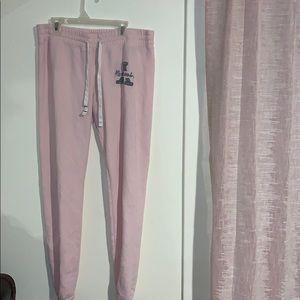 Abercrombie Light Pink Sweats
